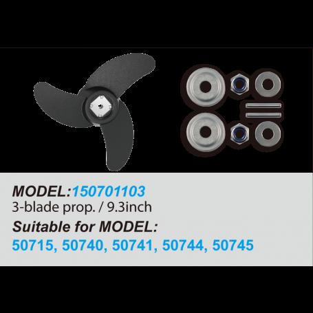 3-Blade Propeller / 9.3inch