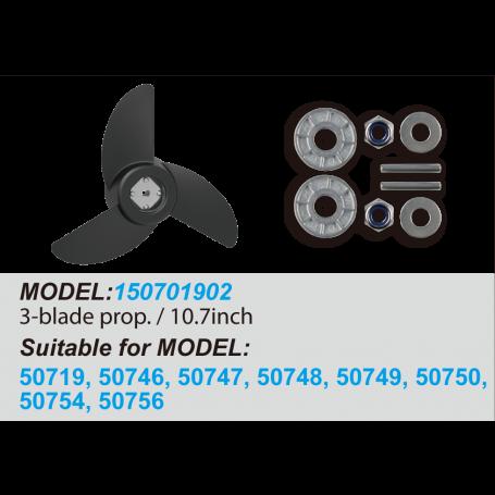 3-Blade Propeller / 10.7inch