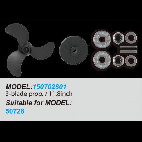 3-Blade Propeller / 11.8inch
